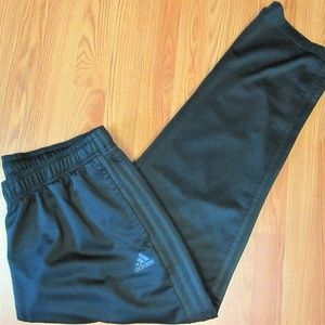 ADIDAS Mens POLYESTER ATHLETIC PANTS BLACK